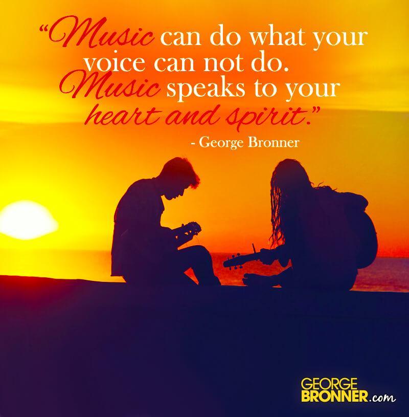 Music Speaks - GeorgeBronner.com | Notes, Quotes ...